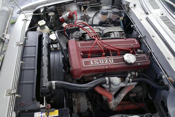 いすゞ117クーペのエンジン